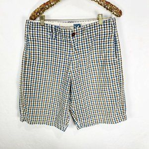 American Eagle Outfitters Plaid Bermuda Shorts